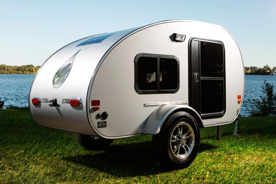 Micro-roulotte iGoutte porte et fenêtre de côté